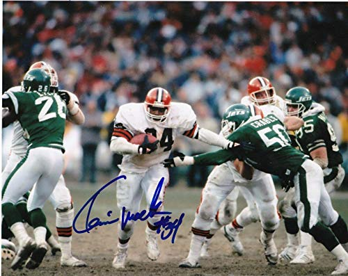 Kevin Mack Signed Photo - 8x10 - Autographed NFL Photos