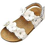 keephen Chaussures pour Enfants Toddler Fille Sandales Bébé Toddler Chaussures  Princesse Chaussures Pétales Fond Mou 1 667fef0b0437