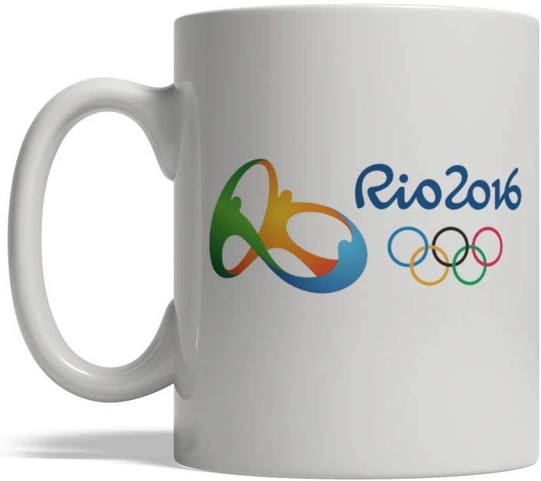 Olympic Games Rio 2016 Ceramic Coffee Mug 11 oz Made in USA Free Ship