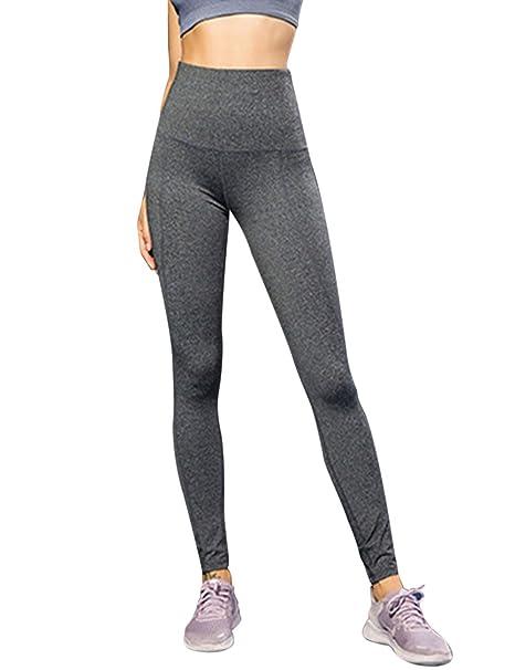 besbomig Corriendo Yoga Gimnasio Polainas Pantalones ...