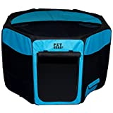 TL4136OB Pet Gear Travel Lite Octagon Pet Pen with Removable Top for Cat and Dog up to 60-Pound, 36-Inch, Ocean Blue