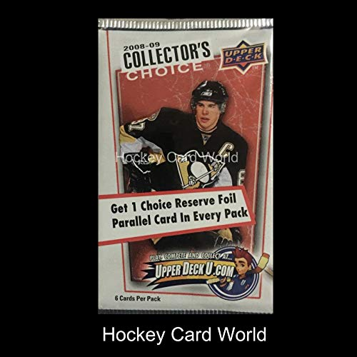 2008-09 Upper Deck Collectors Choice Hockey Hobby Pack - Stamkos Rookie 09 Upper Deck Collectors