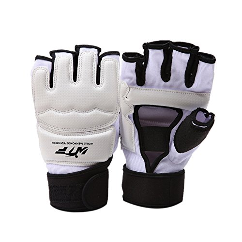 MMA UFC Boxing Taekwondo Gloves, WTF Approved Martial Arts Punch Bag Boxing Grappling Sparring Muay Thai Kickboxing Fighting Gloves For Training, Taekwondo, MMA, Kickboxing, Muy Thai, Boxing (Olympic Boxing Gloves)