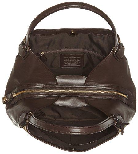 Sacs Main 33523 Femme Coach Portés T H Marron li khaki 000 brown X b 34x28x16 Cm q1awx5x