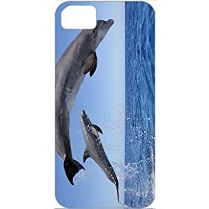DIY Case For Sam Sung Galaxy S5 Cover Customized Gifts Personalized With Animals common bottlenose dolphins Animals Birds White...