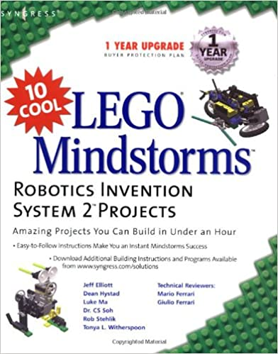 10 Cool Lego Mindstorms Robotics Invention System 2 Projects