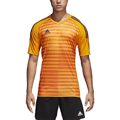Adidas Goalkeeping Jersey - adidas AdiPro 18 Goalkeeper Jersey Short Sleeve (Lucky Orange/Unity Ink, S)