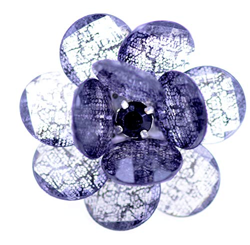 Lizzyoftheflowers - Large mesh Style Resin Flower Stretch -