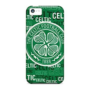 Top Quality Case Cover For Iphone 5c Case With Nice Celtic Fc Appearance