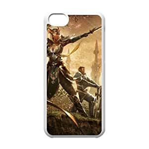 The Elder Scrolls Online iPhone 5c Cell Phone Case White 53Go-199731
