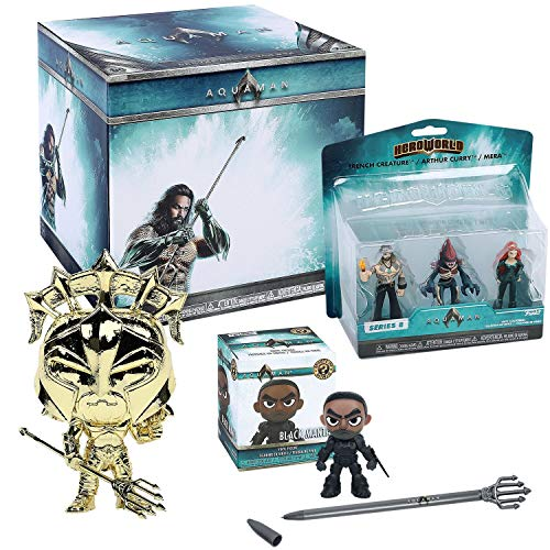 DC Aquaman Funko Collectors Box - 6 Pieces (Ninja Turtles Blind Box Set)
