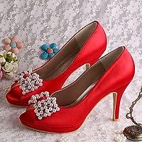 RTRY Las Mujeres'S Wedding Shoes Bomba Básica De