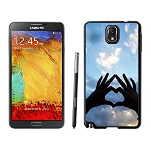 Beautiful Custom Designed Cover Case For Samsung Galaxy Note 3 N900A N900V N900P N900T With Love Hands Silhouette Phone Case