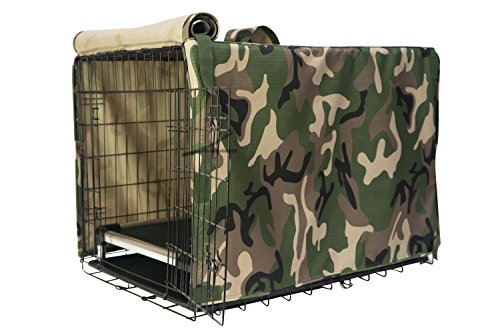 K9 Ballistics Crate Cover Green