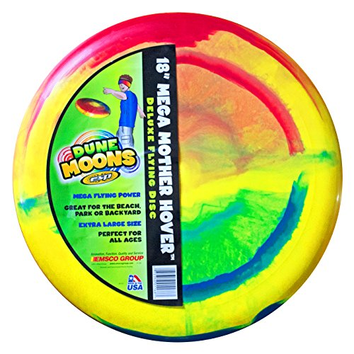 (Emsco Group ESP Dune Moons Deluxe Aerodynamic Flying Discs - MEGA Mother Hover Super Sized 18