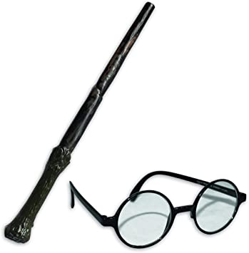 Licensed Harry Potter Wand and glasses kit (accesorio de disfraz ...