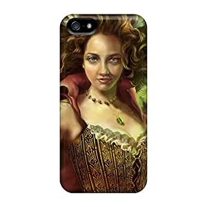 Durable Protector Case Cover With Queen Of The Jungle Hot Design For Iphone 5/5s by icecream design