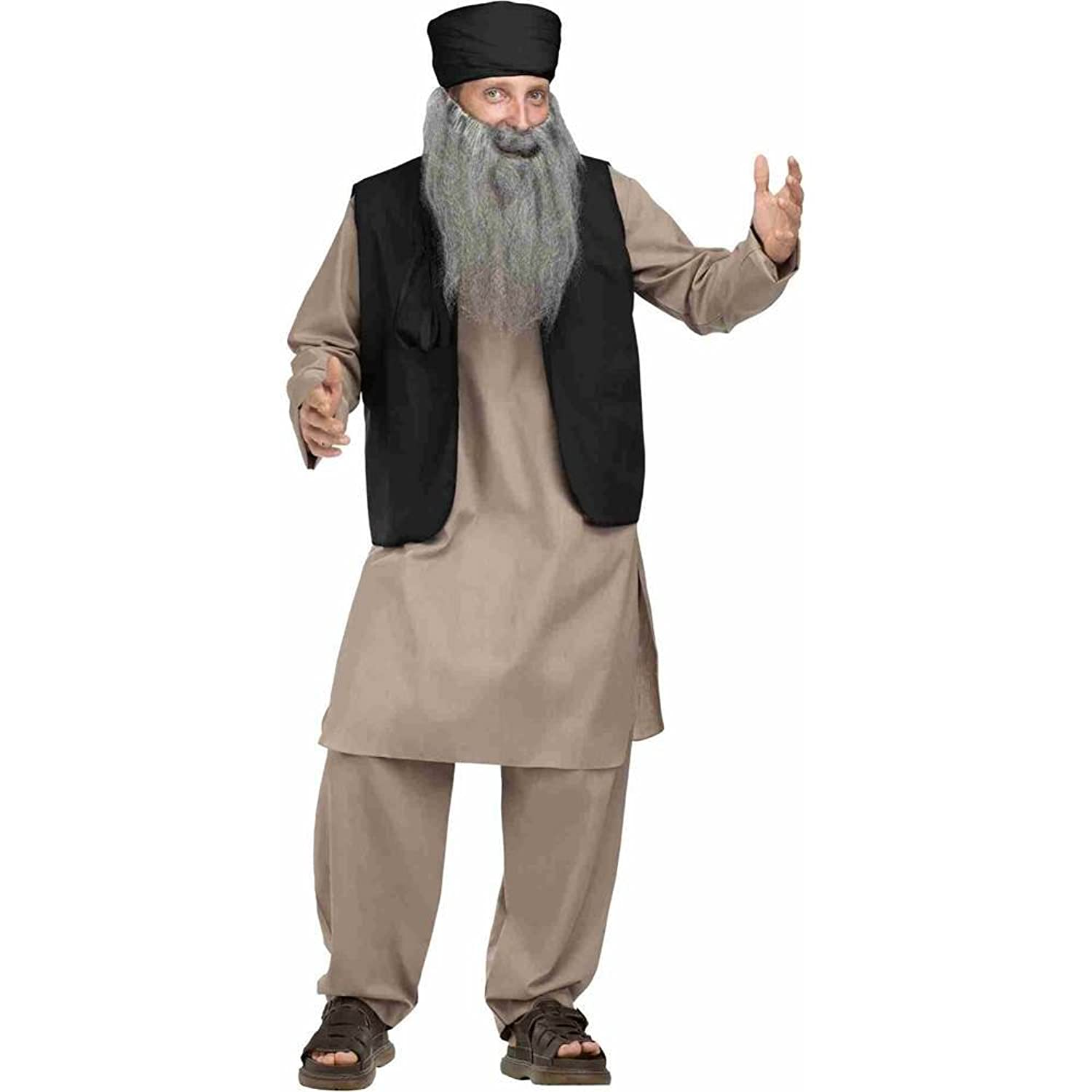 amazoncom pashtun man adult costume clothing - Amazon Halloween Costumes Men