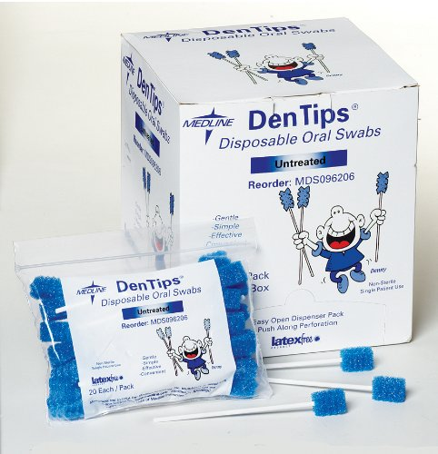 Untreated Oral Care Swabs - 7