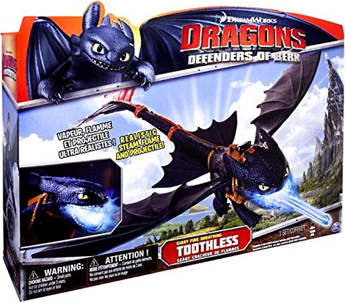 - DreamWorks Dragons Defenders of Berk - Giant Fire Breathing Toothless