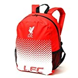 Liverpool FC Football Team Fade Zip Bag Backpack by Official Football Merchandise