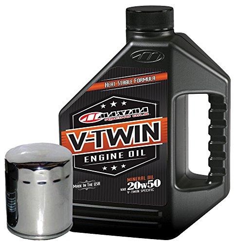 MaximaHiflofiltro VTEOCK4 Engine Oil Change Kit for Harley Davidson Twin Cam V-Twin
