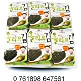 ChoripDong Korean Seaweed Snack (Kim Nori), Roasted w/Olive oil & Sea Salted, 0.17-Ounce Bags (Pack of 12)