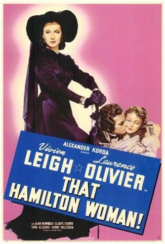 Amazon.com: That Hamilton Woman POSTER Movie (27 x 40 Inches - 69cm x  102cm) (1941): Posters & Prints