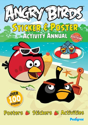 Read Online Angry Birds: Sticker & Poster Activity Annual ebook