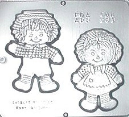 Ann & Andy Dolls Chocolate Candy Mold 563
