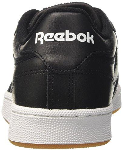 Sneaker Gum Int White Uomo Club C 85 000 Nero Black Reebok BwZtzqq