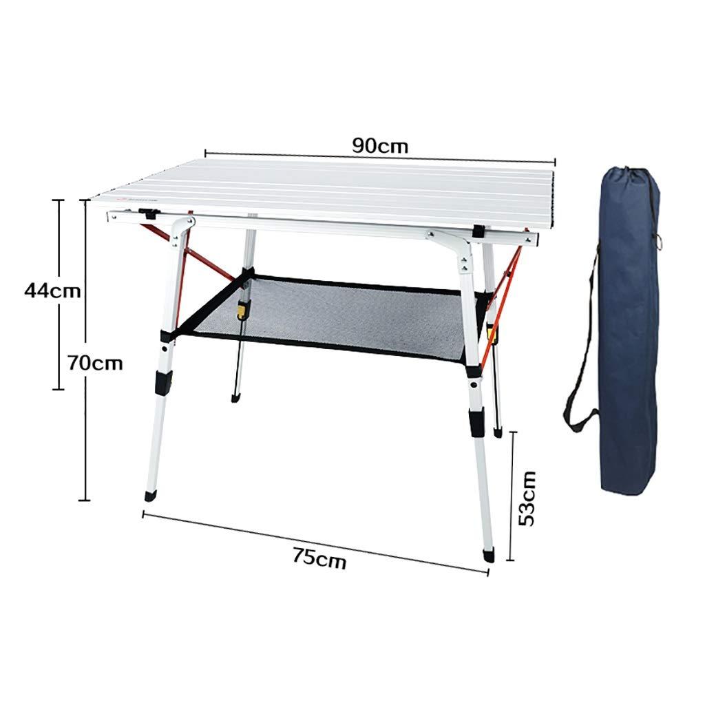 ガーデンテーブル 軽量折りたたみ式テーブルポータブルキャンプテーブルミニキャンプテーブル (色 : B) B07P38S4JR B
