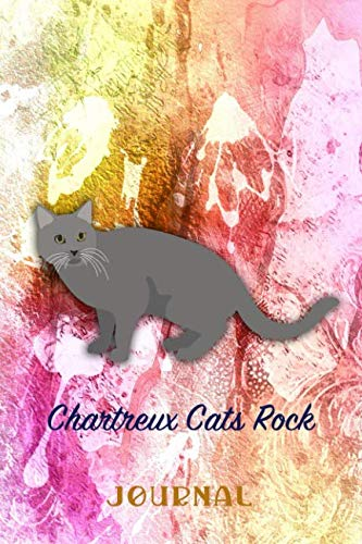 Claw Chartreuse - Chartreux Cats Rock: Pocket Gift Notebook for Cat and Kitty Lovers