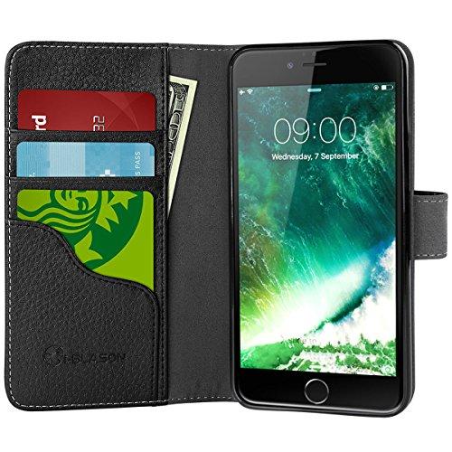 iPhone i Blason Kickstand Leather Holders%EF%BC%88Black%EF%BC%89