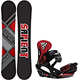 snowboard boots binding package - Sapient Future 150 Mens Snowboard Wisdom Bindings - Fits US Mens Boots Sized: 8,9,10.