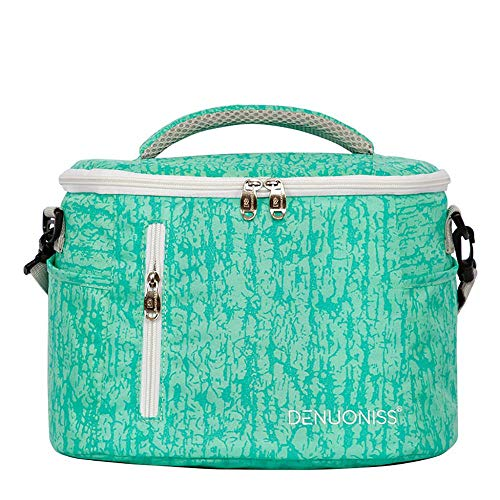 UMFun Insulated Thermal Cooler Lunch Box Bento Tote Picnic Storage Bag Case (blue) ()