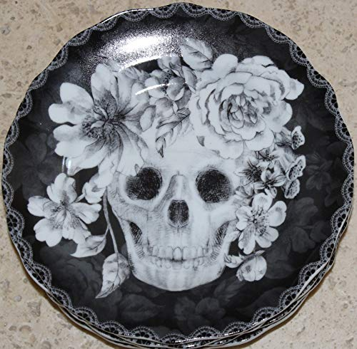 222 Fifth Halloween Marbella Skull 6-1/2
