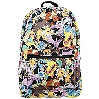 Loungefly x Pokemon Eevee Evolution AOP Backpack Multi