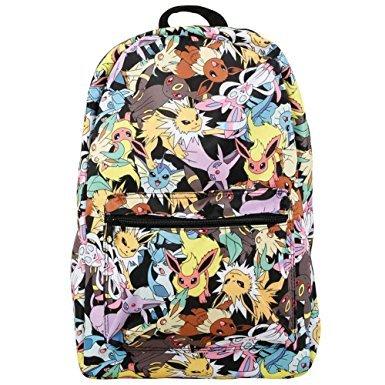 Small Evolution Backpack - Loungefly x Pokemon Eevee Evolution AOP Backpack Multi