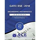 GATE ESE 2018 Engineering mathematics, ECE,EEE,INST,MECH,CE,PI, 25 years of Previous GATE Questions with Solutions, Subjectwise & Chapterwise (Engineering Mathematics)