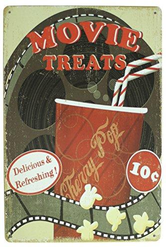 Movie Treats Popcorn Metal sign vintage Art decor House Cinema Metal Paintings B-53 Mix order 20*30 - 53 Cinema