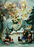 Angel Village German Christmas Advent Calendar