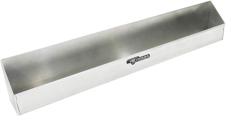 Pit Posse 567 Aerosol Shelf 8 Mount Aluminum Cabinet Shop Garage Enclosed Race Car NHRA Trailer Accessory (Silver)