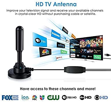 Smart Indoor HDTV Antenna for Digital USB Amplifier Ground DTMB DVB-T2 isdb Car Clear Antenna TV Aerial Satellite Dish Receiver: Amazon.es: Electrónica