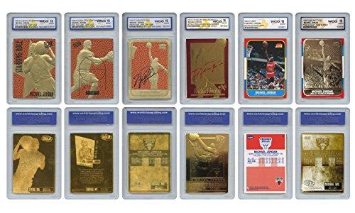 - The 6 Greatest MICHAEL JORDAN Fleer Cards Ever Assembled all Graded Gem-Mint 10