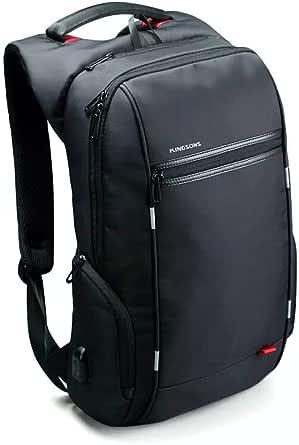 Kingsons City Elite Series Laptop Backpack - Black
