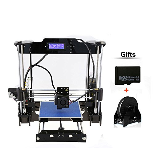 DMYCO 2017 Upgraded P802MA Desktop 3D Printer Kits High Accuracy Auto Leveling DIY Self-Assembly Tridimensional Multicolor Printing Machine
