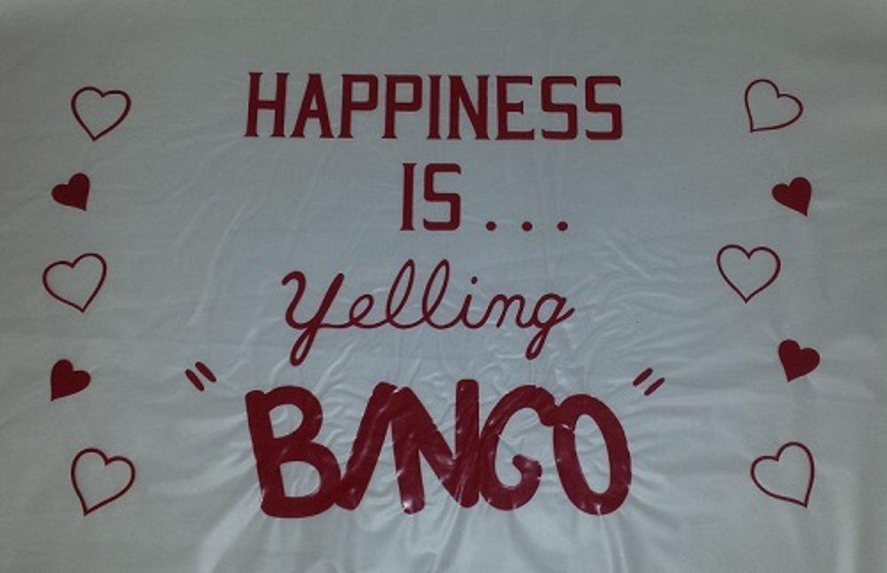 【別倉庫からの配送】 BINGO Dauberマット( Happiness Is B00PBV9SME Dauberマット( Yelling BINGO ) Yelling B00PBV9SME, タカハギシ:74147696 --- realcalcados.com.br