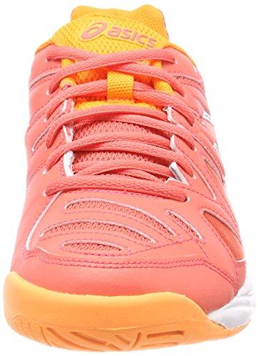 Coralicious Weiß Pop Orange Gs Gel Asics 3001 für Kinder Orange Unisex Game 5 Tennisschuhe qRwxwvz7