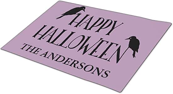 AbbyDay Doormat Spooky Typography Birds Funny Doormats One size